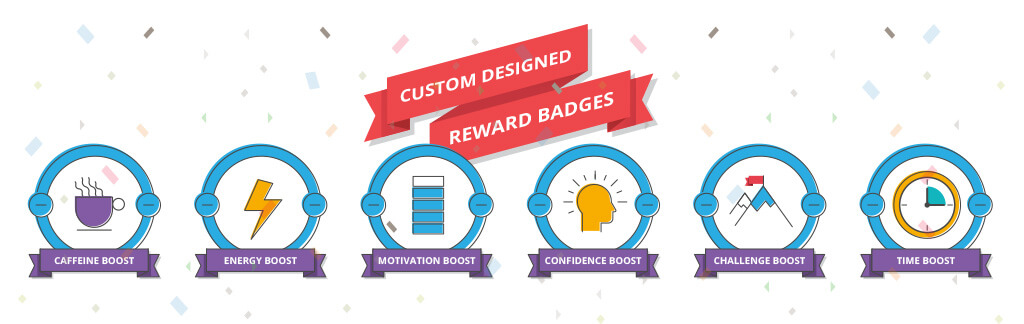 Badges used as motivation in elearning activity